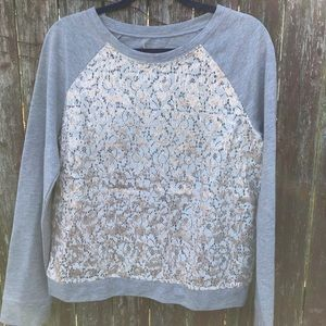 Loft Sequence Sweater